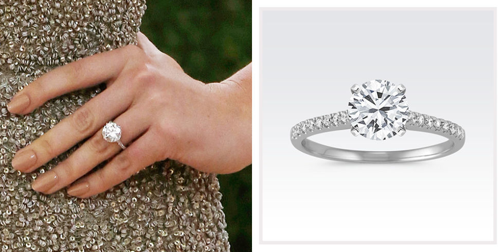Good Kate Upton Shane Co Cathedral Diamond Enement Ring. 31 Best Celebrity  Enement Rings And Look Alikes You Can Now